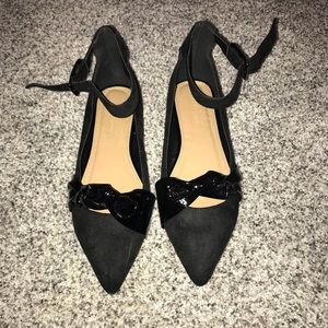 NEW ASOS Pointed Black Flats
